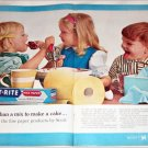 1963 Scott Paper ad