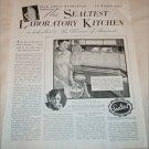 1936 Sealtest Laboratory Kitchen ad