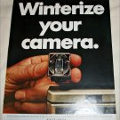 1968 Sylvania Blue Dot Flash Cubes ad
