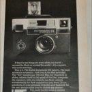 1970 Kodak Instamatic 814 Camera ad