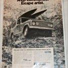 1972 American Motors Jeep Commando Escape Artist ad