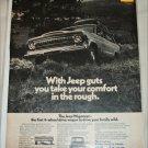 1972 American Motors Jeep Wagoneer Guts ad