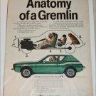 1973 American Motors Gremlin X car ad