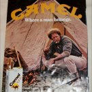 1981 Camel Lights Cigarette Tent ad