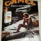 1982 Camel Lights Cigarette ad