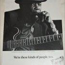 1992 People ad featuring John Lee Hooker