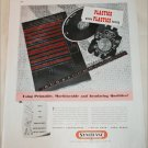 Synthane Plastic Instruments ad