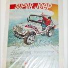 1973 American Motors Super Jeep ad