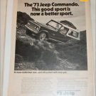 1973 American Motors Jeep Commando ad