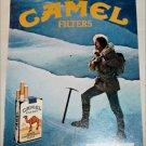 1983 Camel Cigarette Glacier ad