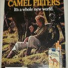 1984 Camel Cigarette Motorcycle ad