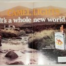 1984 Camel Lights Cigarette 4 Wheel Drive ad