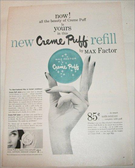 Max Factor Creme Puff Refill ad
