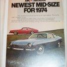 1974 American Motors Matador ad blue