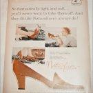 1958 Brown Naturalizer Shoe ad