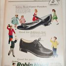 1958 Brown Robin Hood Easter Shoes ad