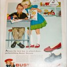 1958 Brown Buster Brown School Shoes ad
