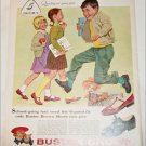1958 Brown Buster Brown Tootsie & Lindy Shoes ad