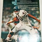 Sport's Illustrated ad featuring Gale Sayers