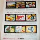 1952 Timken Roller Bearings ad