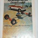 1974 American Motors Jeep Pickup truck ad