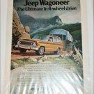 1974 American Motors Jeep Wagoneer ad