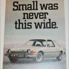 1975 American Motors Pacer car ad grey
