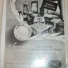 Syracuse China ad featuring Schrafts Restaurants