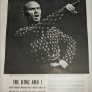 Yul Brenner The King and I article