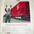 1956 Timken Roller Bearings ad