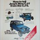 1976 American Motors Jeep CJ-5 ad