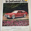 1976 American Motors Hornet Sportabout stationwagon car ad