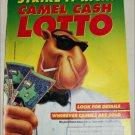 1993 Camel Cigarette Joe Camel Contest ad