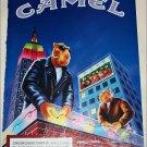 1996 Camel Lights Joe Camel Christmas Cigarette ad