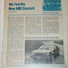 1978 American Motors Concord Drive Report