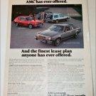 1978 American Motors Lineup car ad #2