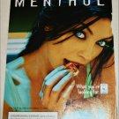 1997 Camel Lights Menthol Cigarette ad