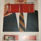 1957 Buxton Convertible Billfold ad