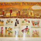 1969 Max Factor Sunshine Christmas Cosmetics ad