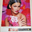 1999 Max Factor Electric Sunset Collection ad