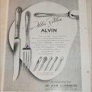 1948 Alvin Della Robia Silverware ad