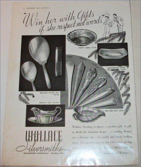 1938 Wallace Silversmith's ad