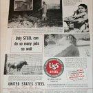 1951 United States Steel ad