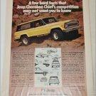 1978 American Motors Jeep Cherokee Chief ad