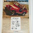 1978 American Motors Jeep CJ-7 Renegade ad