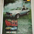 1979 American Motors Spirit DL car ad