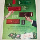 Buxton Billfolds & Key-Tainers Christmas ad