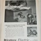 1939 Western Electric ad