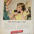 1950 Western Electric ad