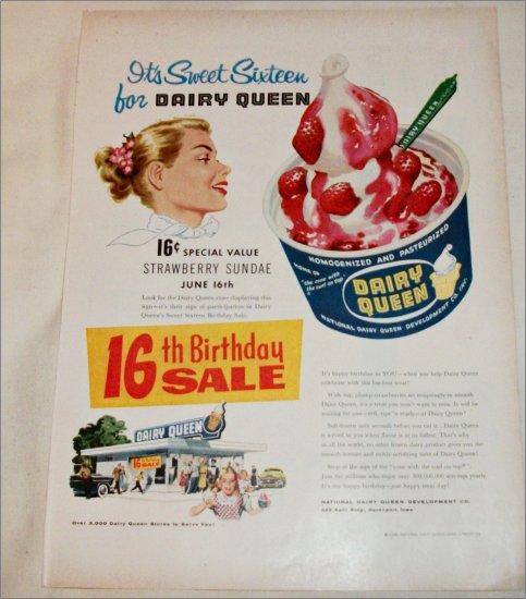 1956 Dairy Queen ad
